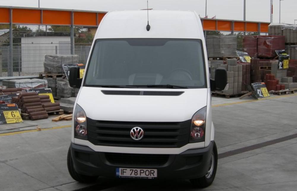 Test Drive cu cea mai noua generatie a utilitarei VW Crafter 2012