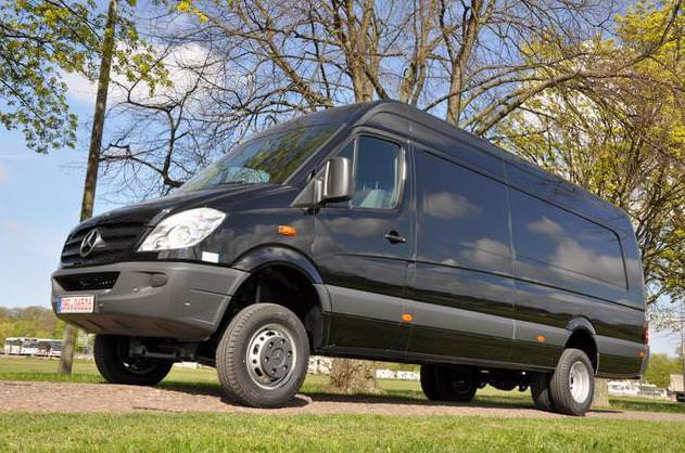 Test Comparativ Mercedes Sprinter 4×4 vs Volkswagen Crafter 4Motion 2012