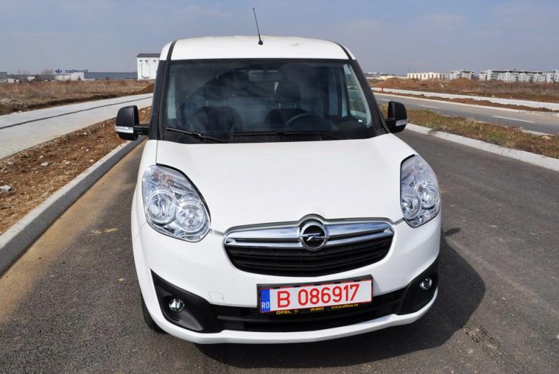 Test in premiera nationala cu noul Opel Combo 1.3 CDTI 2012