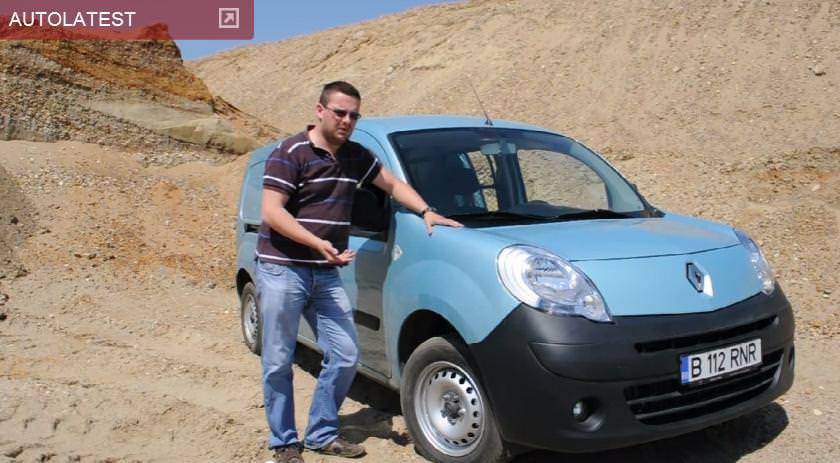 Emisiunea Whattruck cu noul Renault Kangoo Express 2012