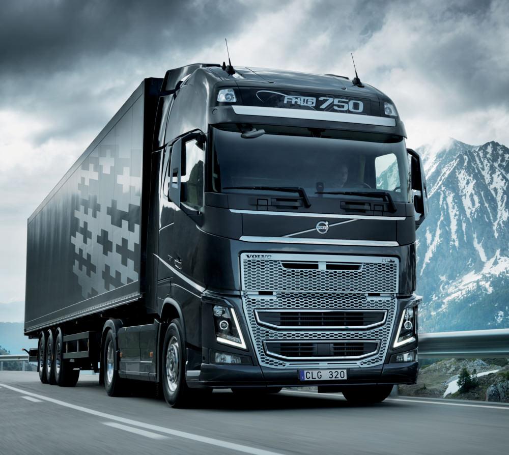 Performantele noul Volvo FH 2013 si FH16-Imagini in premiera