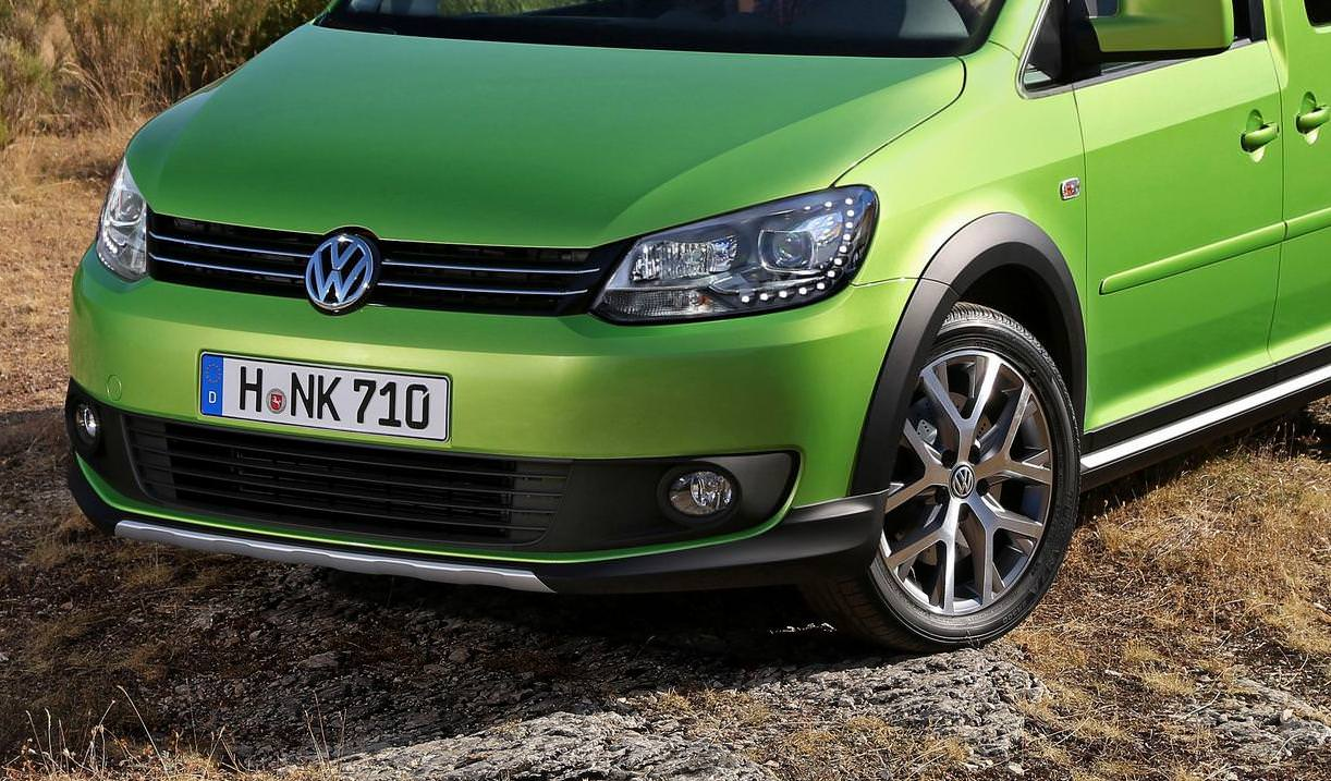 VW a prezentat noul Cross Caddy 2013-Design si performante