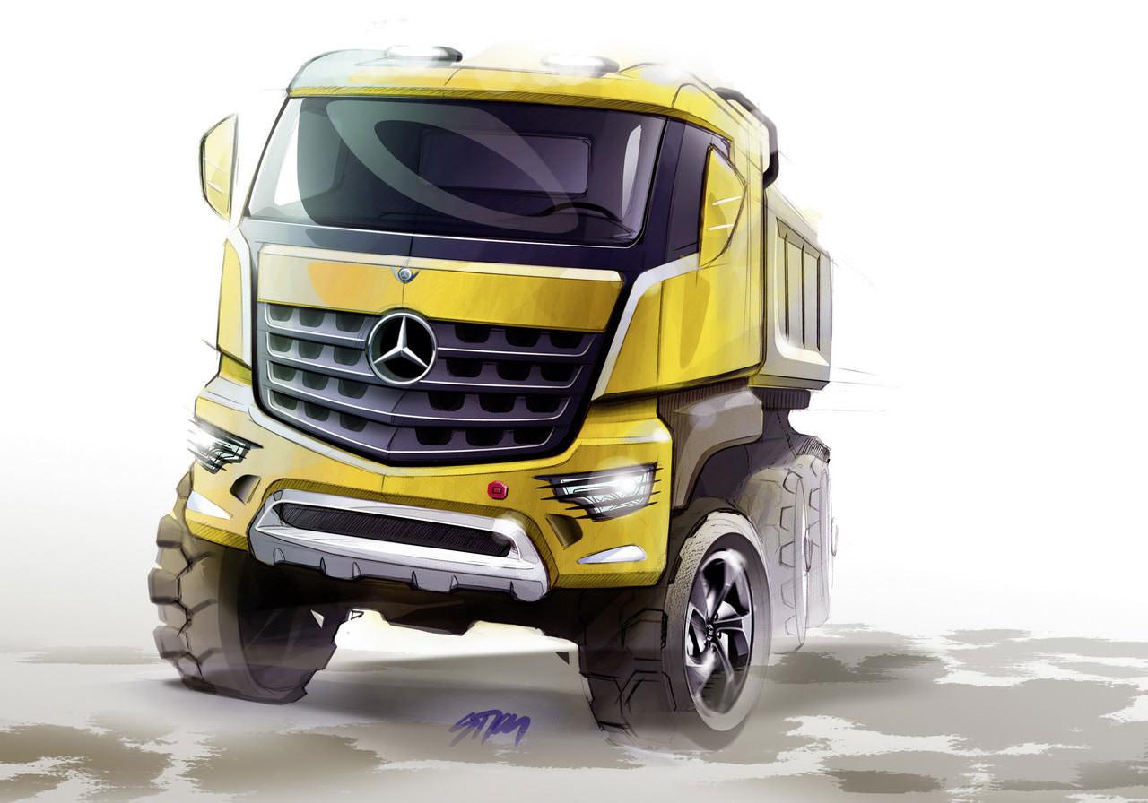 Mercedes Benz Trucks pregateste noul model Arcos 2013