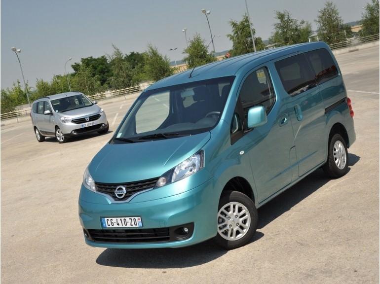 Test Comparativ intre noua Dacia Lodgy dCI vs Nissan Evalia 1.5 dCI 110 CP 2013