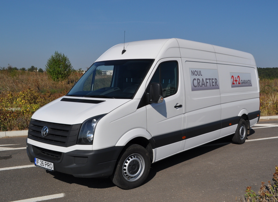 Test in premiera nationala cu noul VW Crafter 2.0 TDI 109 CP 2012