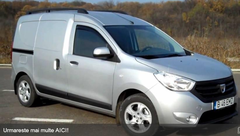 Test drive cu noua Dacia Dokker Van 1.5 dCI 90 CP