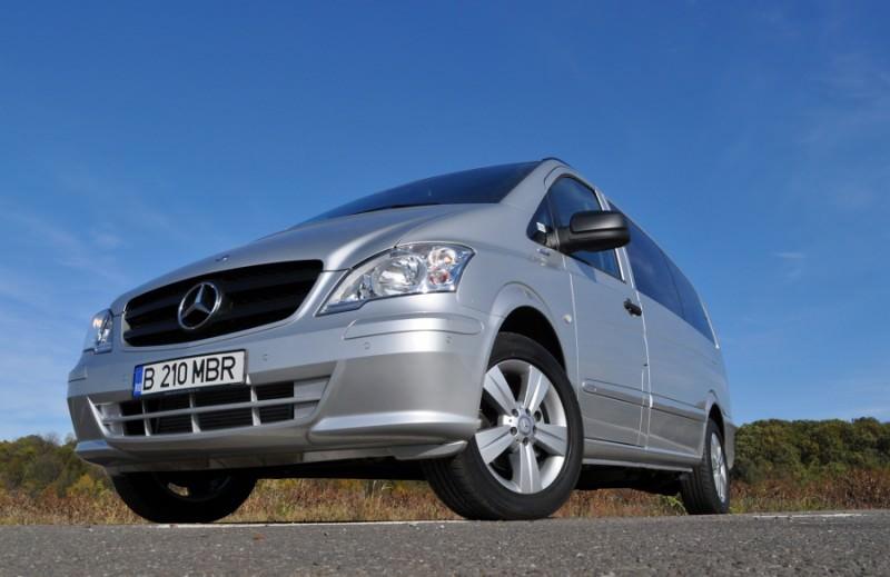 Test drive in premiera cu noul Mercedes Benz Vito Shuttle 2.2 CDI de 163 CP 2012