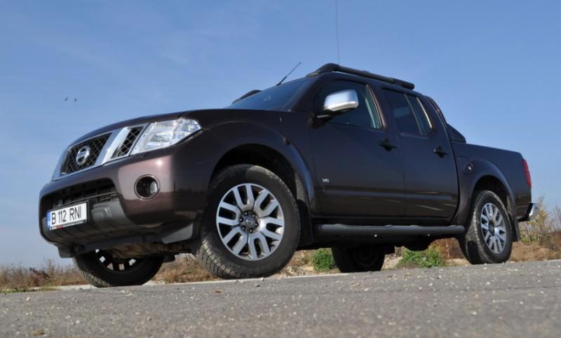 Test cu cel mai puternic pick-ul al momentului-Nissan Navara V6 3.0 dCI 231 CP