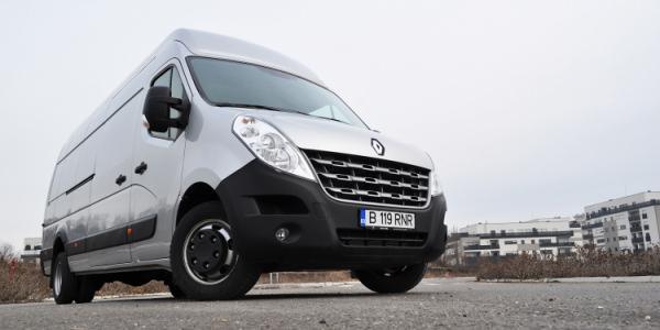 Test Drive cu noul Renault Master 2.3 dCI 150 CP 5.5 tone 2013