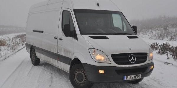 Test Drive cu noul Mercedes Sprinter 316 CDI Stop&Start