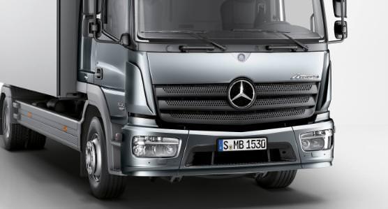 Noua generatie de camioane Mercedes Atego 2013