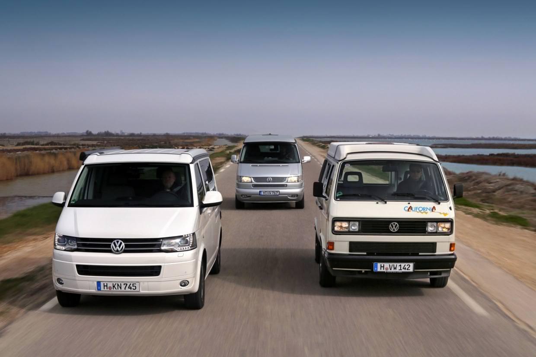 VW sarbatoareste 25 de ani a modelului California