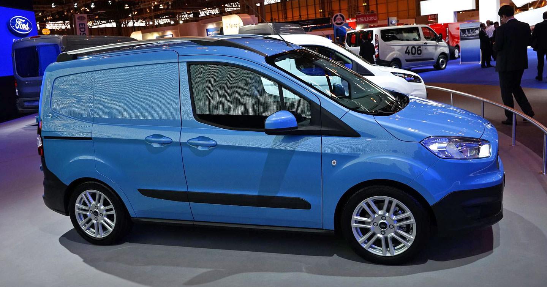 Imagini in premiera cu toata gama de utilitare Ford Europe-Fiesta VAN EcoNetic
