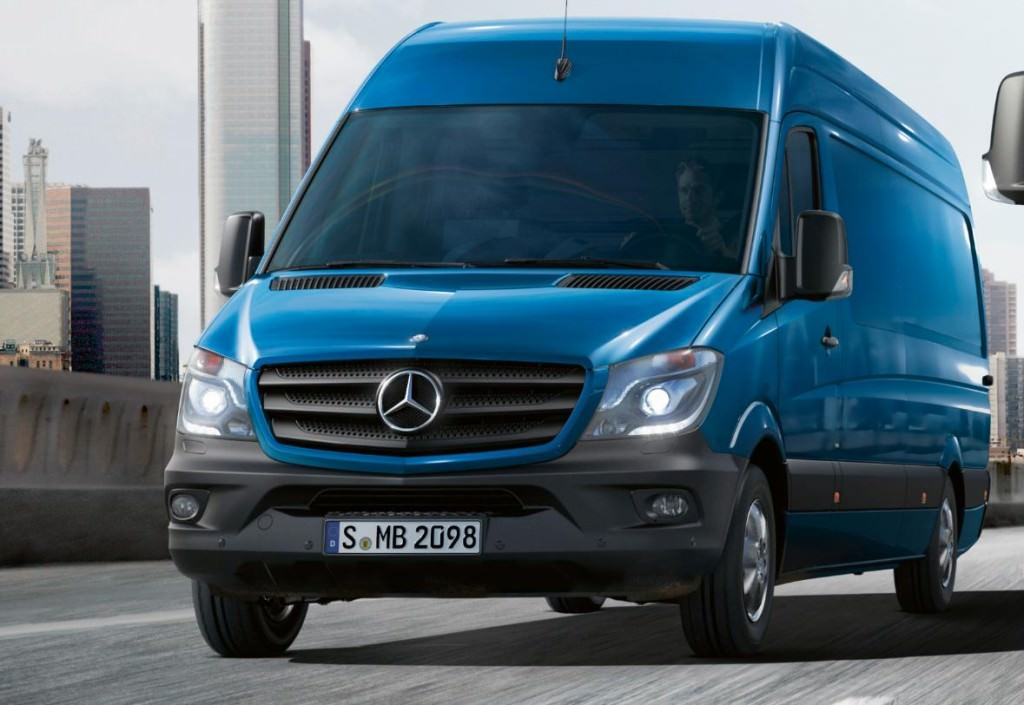 World premiere of the new mercedes benz sprinter facelift for New mercedes benz sprinter