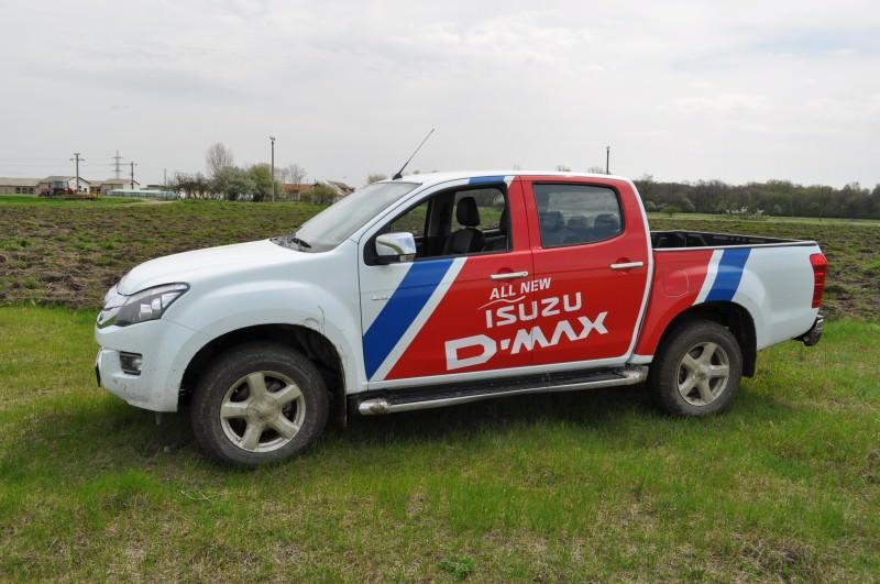 Test drive cu cel mai economic pick-up-Isuzu D-Max 2.5 Twin Turbo