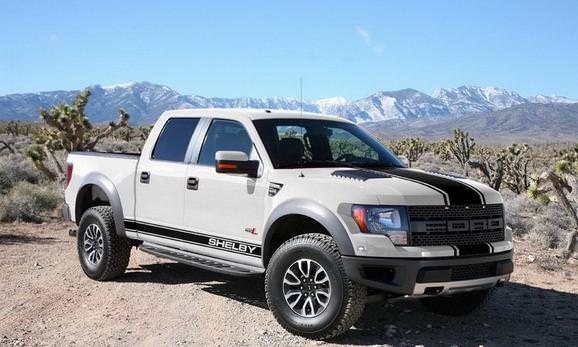 Shelby a modificat modelul Ford SVT Raptor 2013