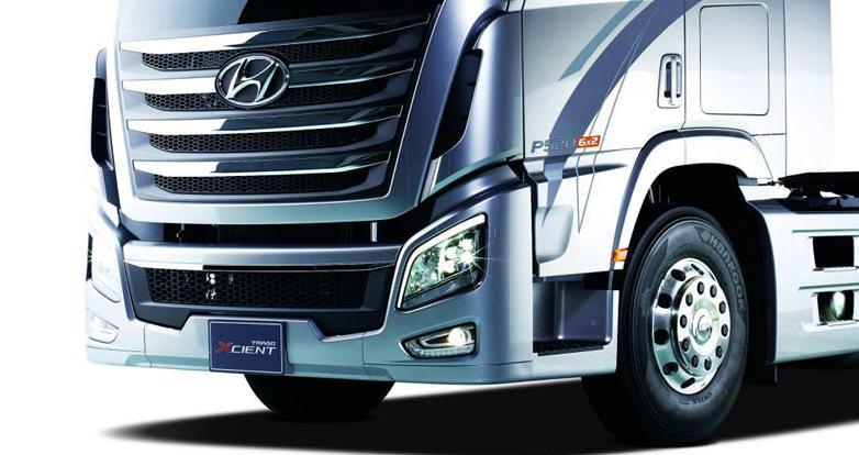 Hyundai a lansat camionul Trago Xcient 2013-Diesel Powertech de 520 CP