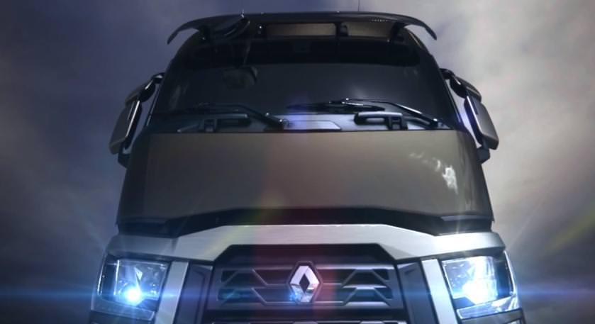 Premiera nationala-Iata noua generatie de camioane Renault Seria T DTi13 2013
