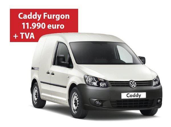 VW Caddy TDI costa acum incepand cu 11.990 Euro