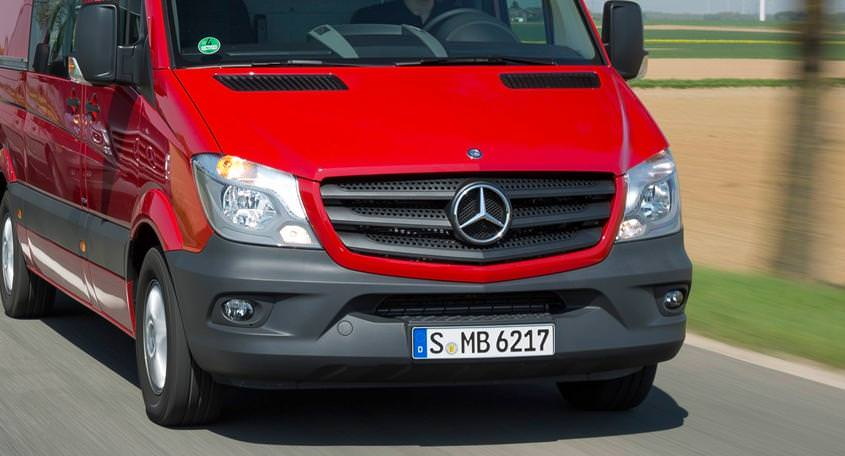 Mercedes-Benz a lansat oficial in Romania noul Sprinter BlueTec facelift 2014