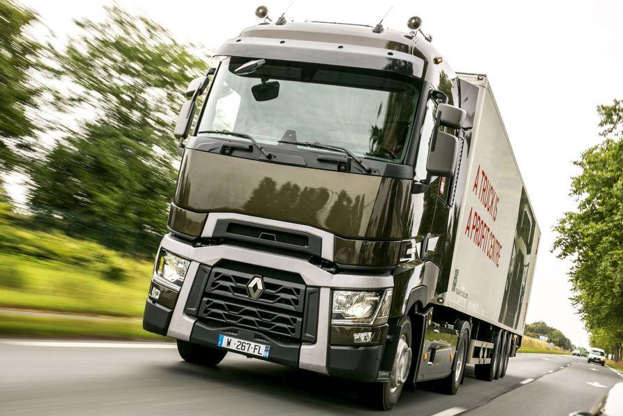primul test cu noul camion renault t 520 comfort 2014 whattruck. Black Bedroom Furniture Sets. Home Design Ideas