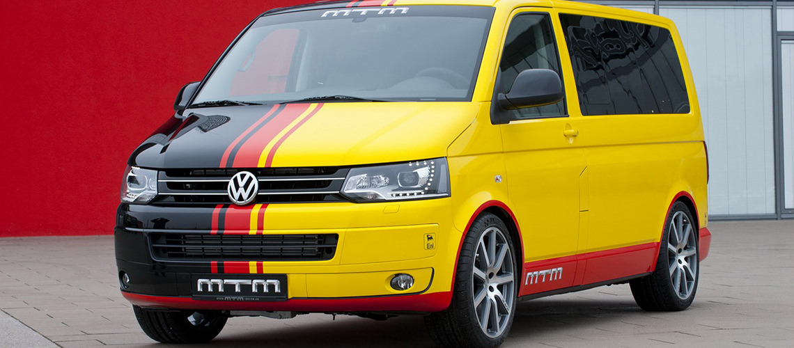 VIDEO- MTM is the best commercial van tuner in Germany with the mighty T500 VW Transporter T5 2013
