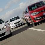 Test comparativ KIA Ceed 1.6 GDI vs Peugeot 308 1.6 THP vs Renault Megane 1.2 TCE 2014, date tehnice, ceed vs concurenta, pret kia ceed vs 308, calitate de fabricatie, test drive comparativ, 0-100 km/h, 1.6 gdi vs 1.6 thp, . 1.6 gdi vs 1.2 tce, renault vs peugeot vs kia, oferta kia ceed 2014, cea mai buna compacta, kia ceed made in eu