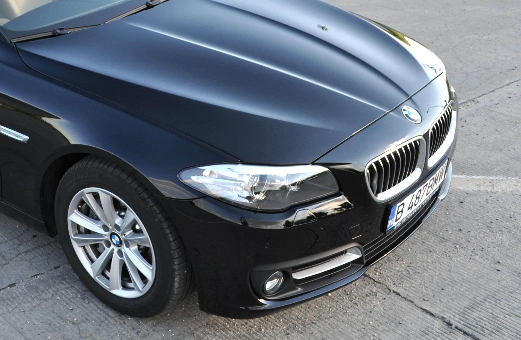 Primul test cu noul BMW Seria 5 facelift-Test in RO BMW 525d xDrive 2014