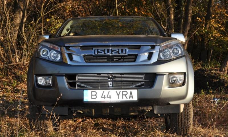 Test Drive cu cel mai economic pick-up din Europa- Noul Isuzu D-Max TwinTurbo 163 CP 2013