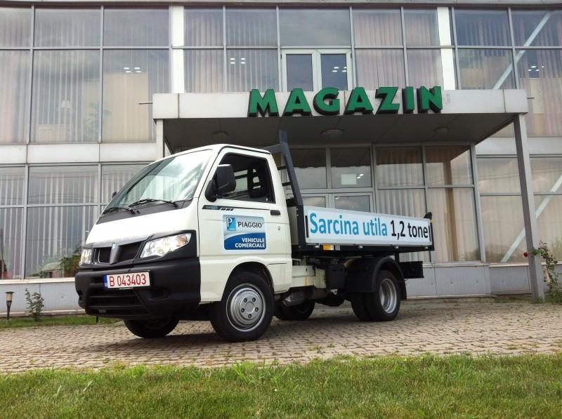 Test cu noul Piaggio Porter Maxxi D120 2014-Sarcina de 1.3 tone citadine