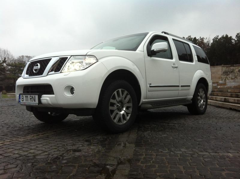 Test Drive cu ultimul Nissan off road veritabil-Pathfinder V6 dCI 2014