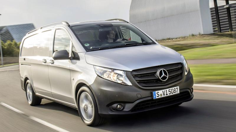 Mercedes Vito 1.6 dCI are un motor Renault si tractiune pe puntea fata