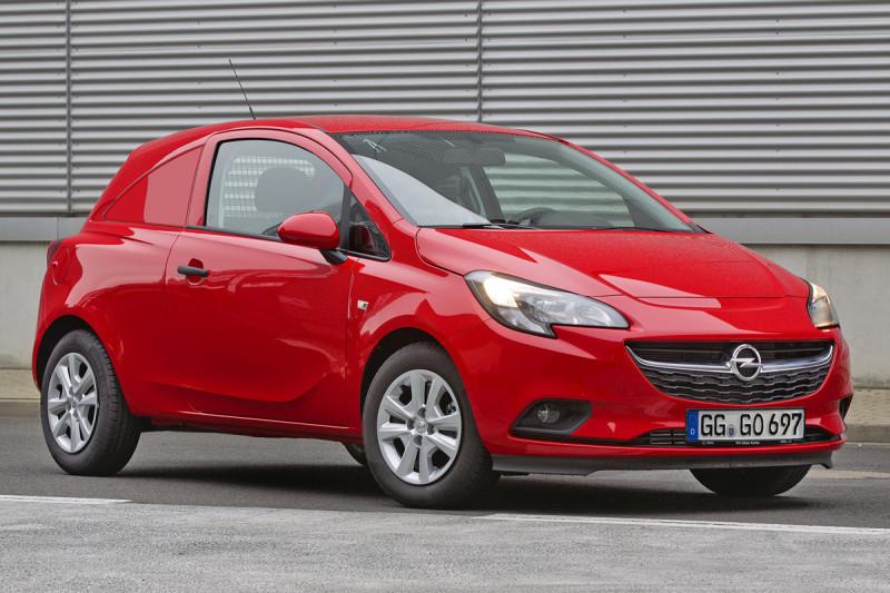 Imagini si date tehnice cu noul Opel Corsavan 2015