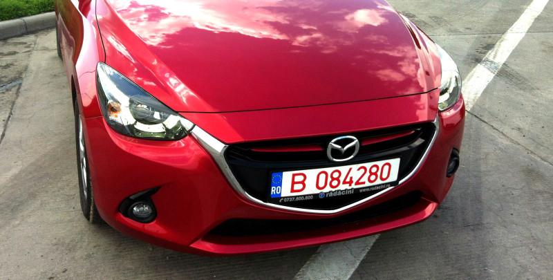 Auto: Test in premiera cu noua Mazda 2 motor 1.5 Skyactiv 2015