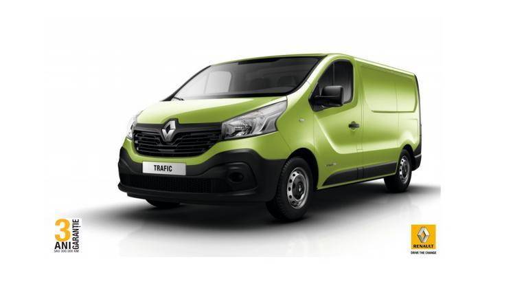 Noul Renault Trafic 2015 este disponibil in Romania! 1.6 TwinTurbo 140 CP
