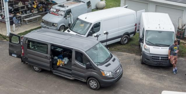 Test comparativ Ford Transit 150 3.2 TDCI vs Mercedes-Benz Sprinter V6 CDI BlueTec vs Fiat Ducato 3.0 Multijet 2016