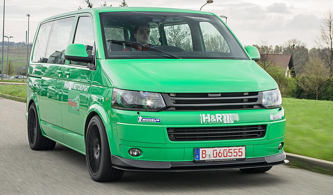 TH Automobile t5, fastest vw transporter, vw t5 650 cp, images TH Automobile porsche, 0-100 km/h TH Automobile vw, max speed TH Automobile, cel mai rapid van TH Automobile, cea mai tare dubita, 650 cp pe un vw transporter