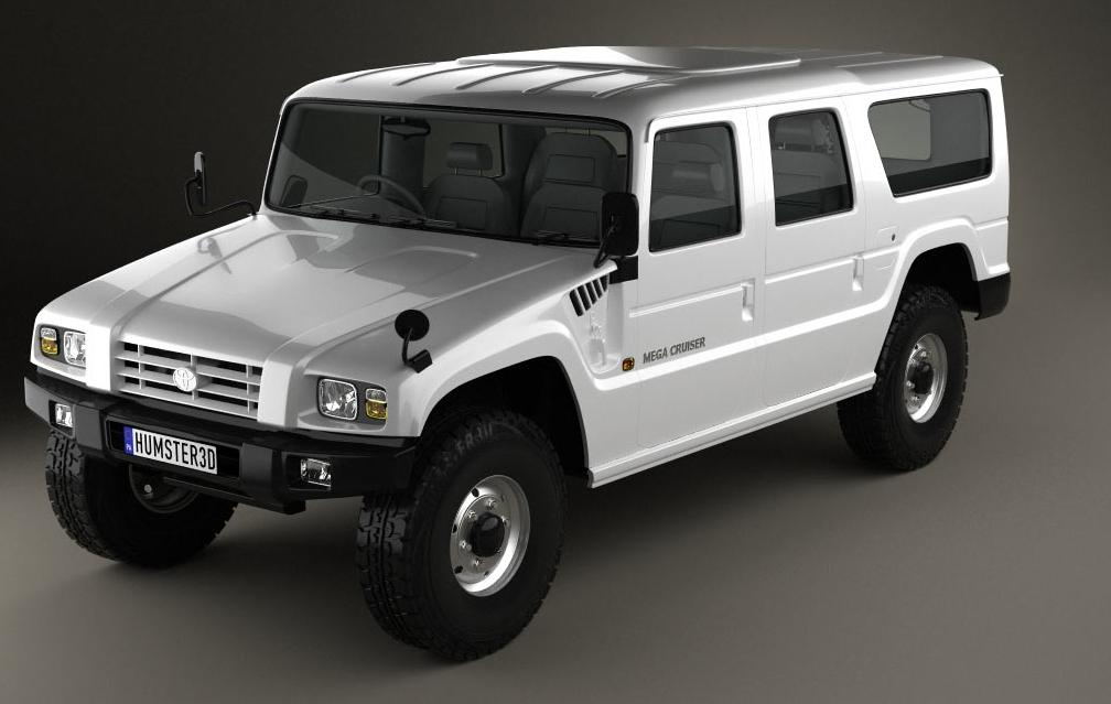 Toyota Mega Cruiser Vs Hummer Autos Post