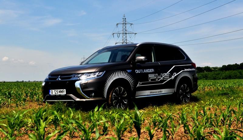 Test Drive in premira cu noul Mitsubishi Outlander PHEV facelift 2016. Eficienta si randament pe toata linia