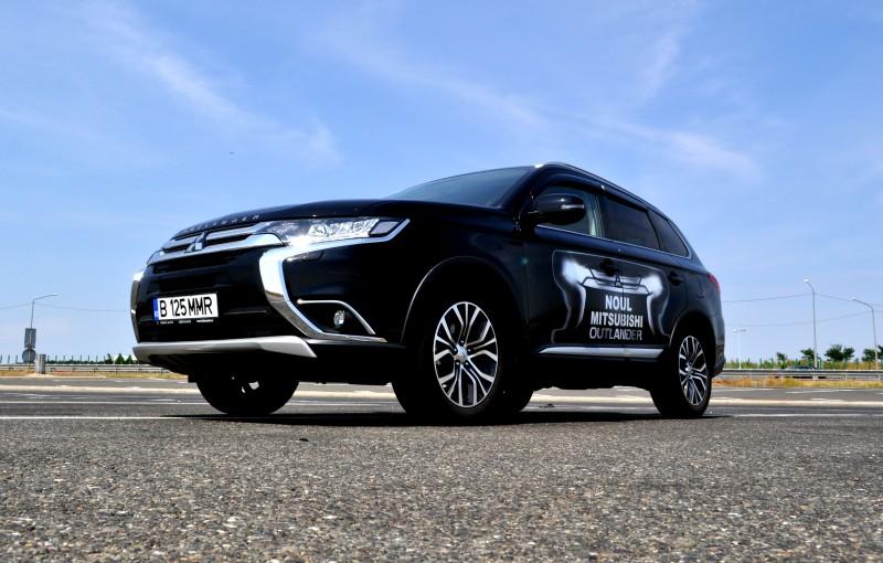 Primul test drive cu noul Mitsubishi Outlander 2.2 DI-D Cleartec 150 CP si cutie automata 6AT