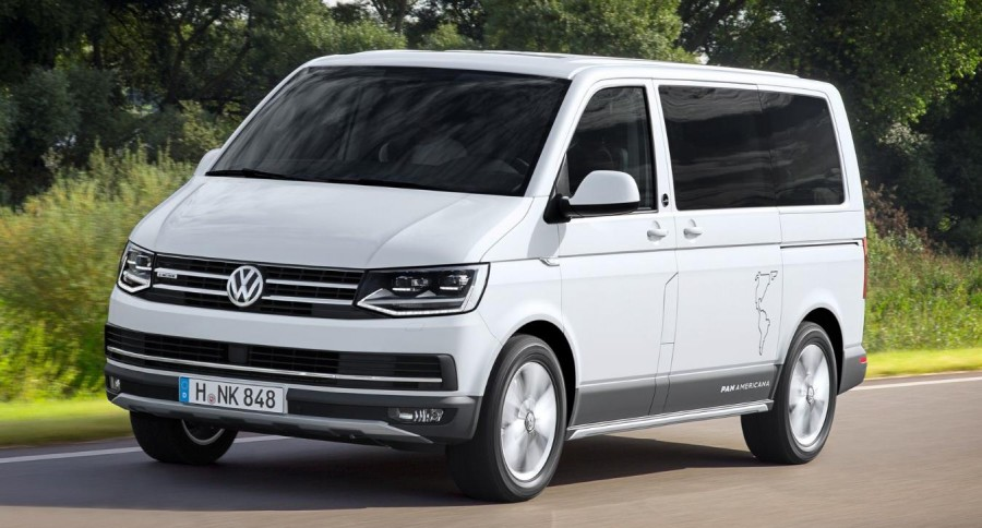 Detalii in premiera cu noul VW Multivan PanAmericana 2017