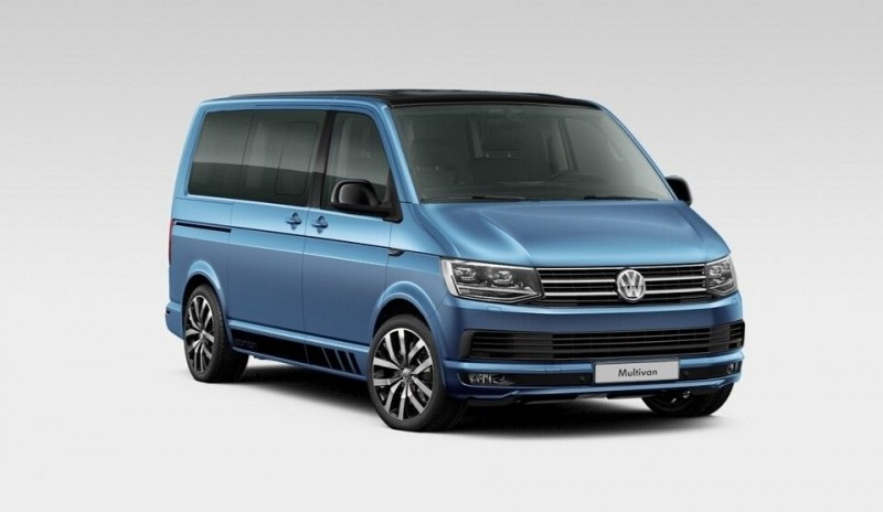 Volkswagen Multivan si California primesc o serie speciala Edition 30
