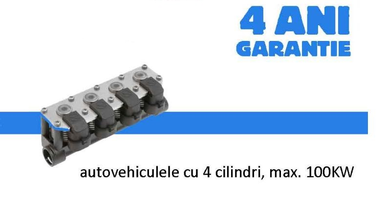 Monteaza pentru prima data in Romania o instalatie GPL cu 4 ani garantie fara limita de km