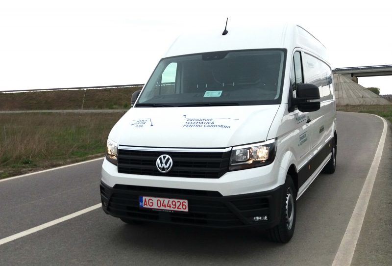 Lansare nationala a noului Volkswagen Crafter 2017! O masina complet noua pentru clienti noi