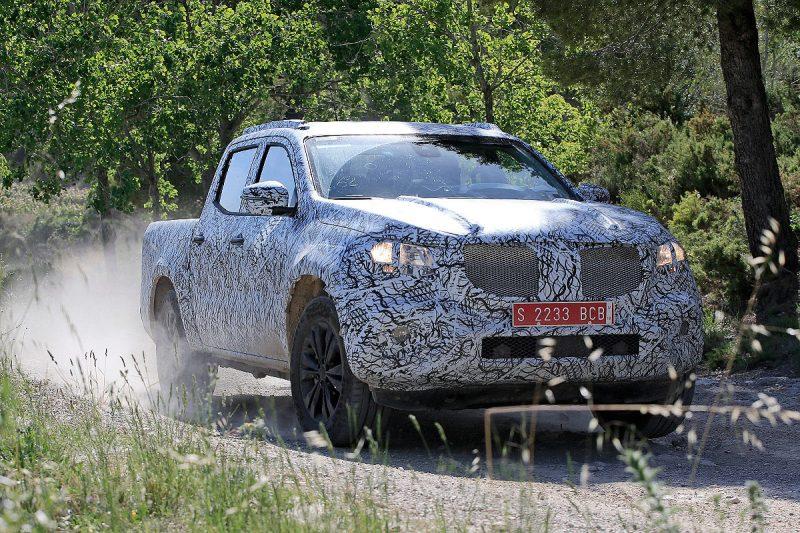 Mercedes X-Klasse se afla in ultima serie de teste inainte de intrarea in productie 2017