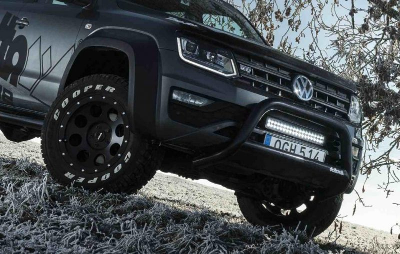 Tuning de senzatie pentru pick-up-Vezi cum arata noul VW Amarok V6 by delta4x4 2017