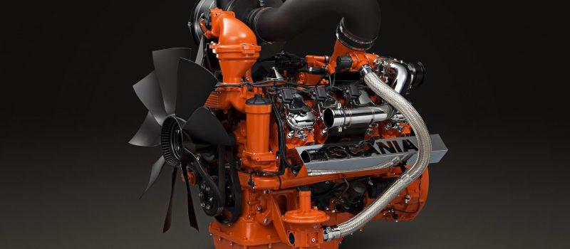 Vezi cum arata noul motor Scania V8 de 16.4 litri pe GPL Euro 7