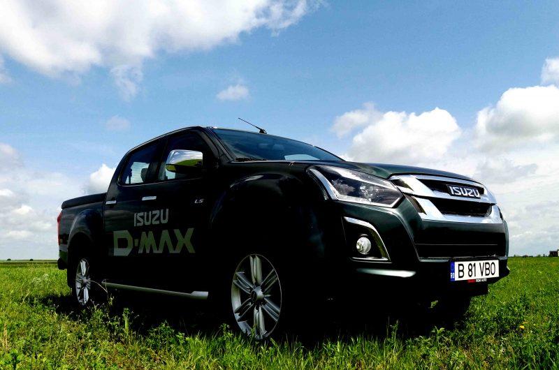 Test Drive cu noul Isuzu D-Max Cabina Dubla Premium 1.9 DSL AT 164 CP 2017