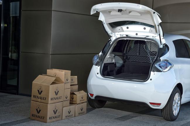 Renault lanseaza in premiera noul model Zoe Van 2017