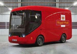 Royal Mail electric van, new electric Royal Mail , new van for Royal Mail 2020, range Royal Mail electric van, price tag Royal Mail van electric